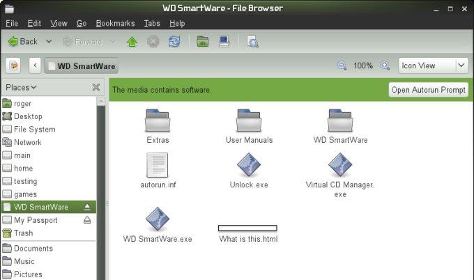 how to delete western digital smartware