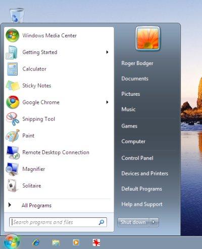 windows 7 theme problem classic