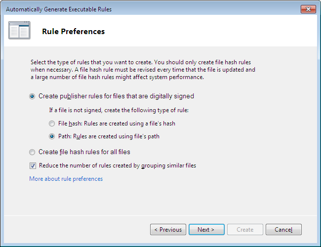 Windows 7 security - A few tips more