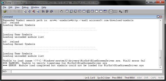 Windows BSOD analysis - A thorough usage guide