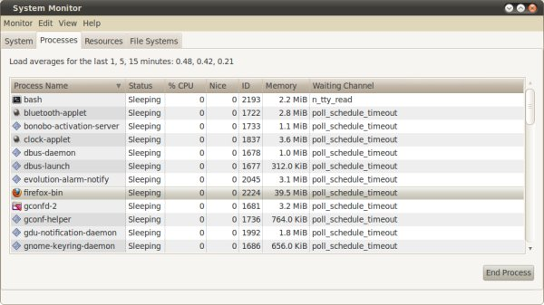 Firefox 4 on Ubuntu 64-bit: New memory. Firefox 4 on Windows 7: