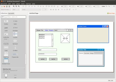 evolus pencil templates - pencil project the gui prototyping tool