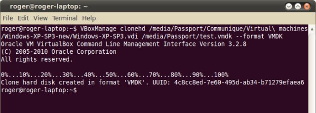 How to convert VirtualBox VDI to VMware VMDK disks