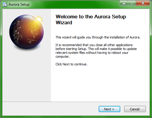 Mozilla Aurora - There will be blood - and fun