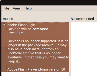Flash suggestion