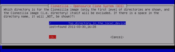 The new and definite CloneZilla tutorial