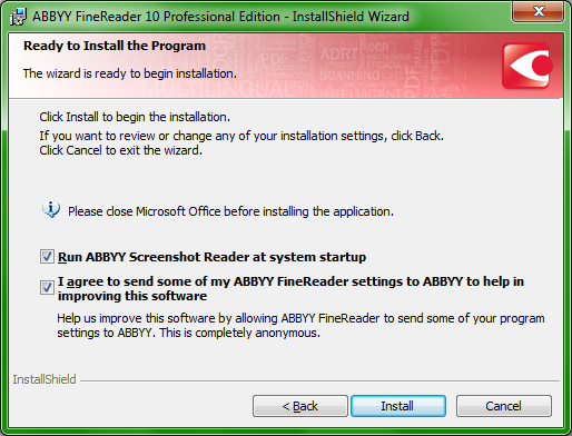 ABBYY FineReader 10 Professional - Windows OCR review