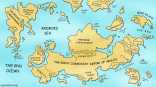 The Great Linux World Map 1.0