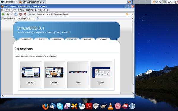 VirtualBSD review - Sneak a peak at FreeBSD