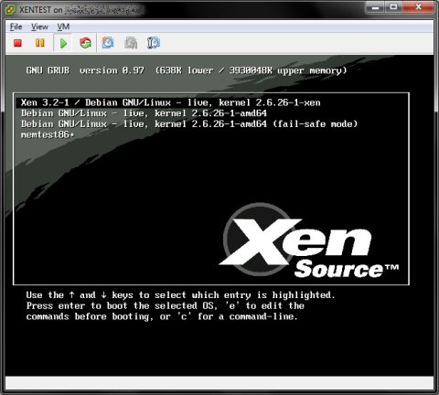 Explore Xen Virtualization With Xen Live Cd