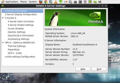 How to install the Nvidia proprietary driver in CentOS