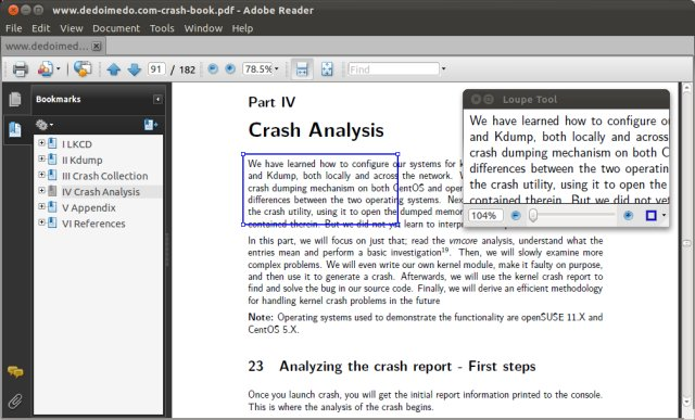 Acrobat Reader, using
