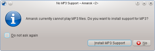 MP3 support