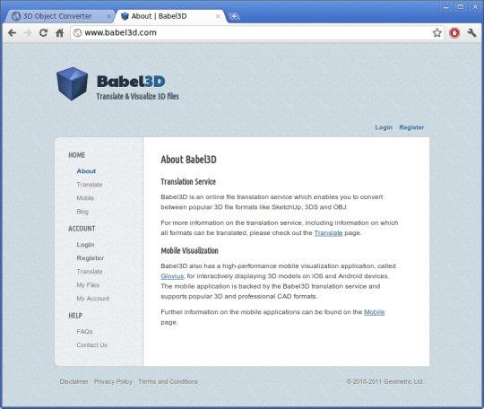 Babel3D
