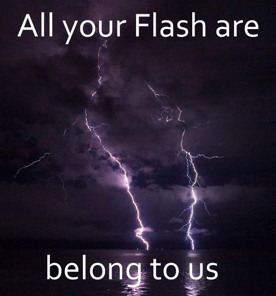 Flash belongs to us meme