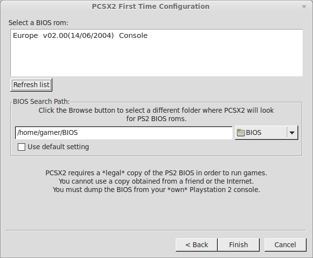 get ps2 bios for pcsx2