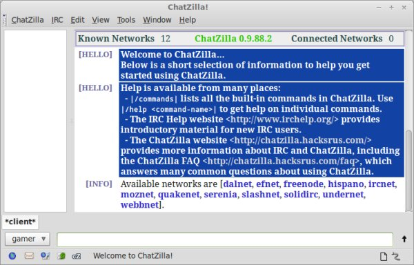 IRC chat