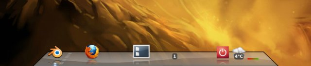 Dock icons gone