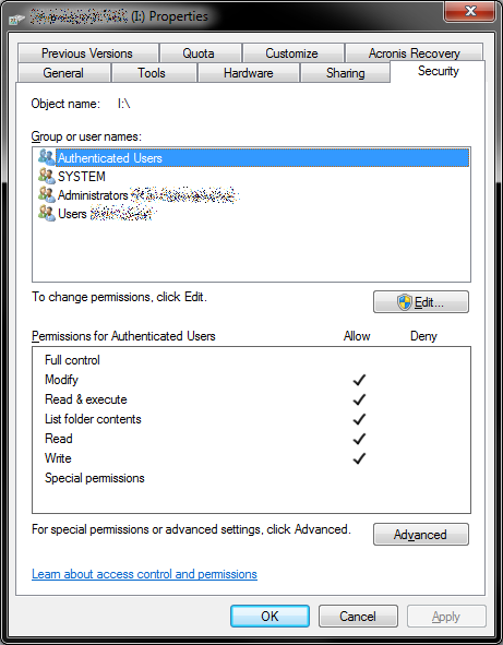 windows 7 username and password network
