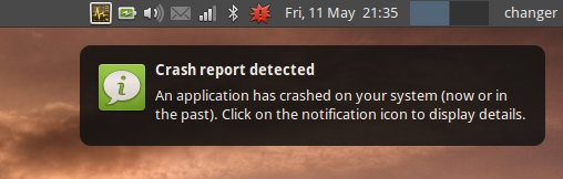 Crash detected