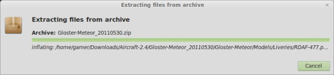 Extracting files