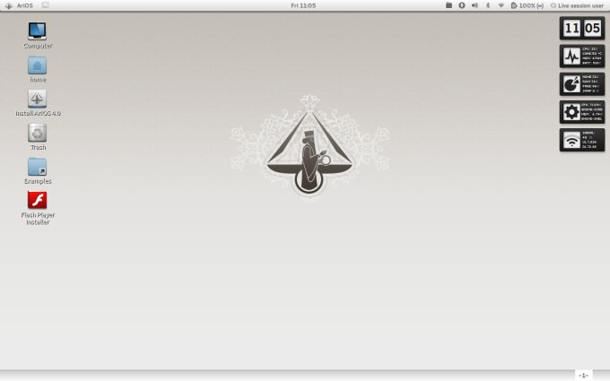 Live desktop, polished