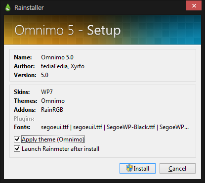 Install Omnimo