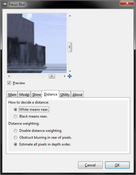 Old Fblur distance option