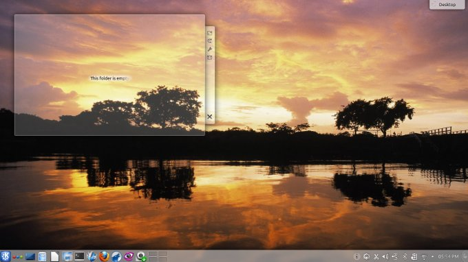 Beautiful desktop