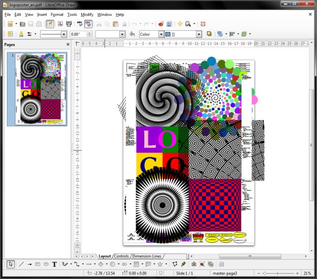 Logo Poster Stars Template Libreoffice 4 Review Getting Better But