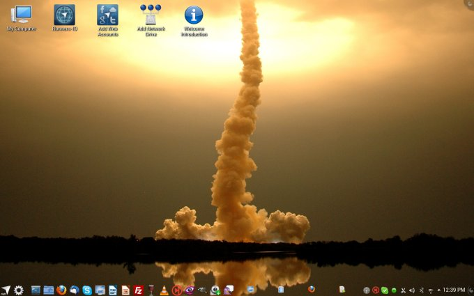 Final desktop, lovely
