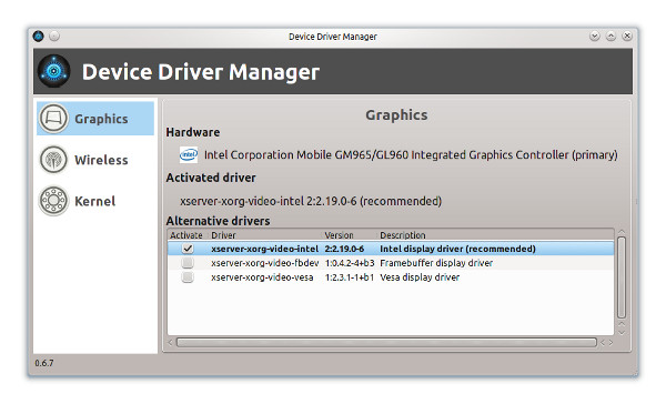 Device Driver Manager