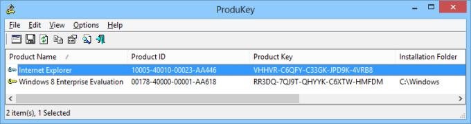 getting product key from bios