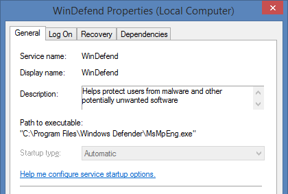 how to stop mcafee services access denied