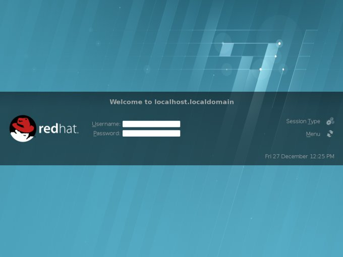 First steps with RHEL 7 0 Beta