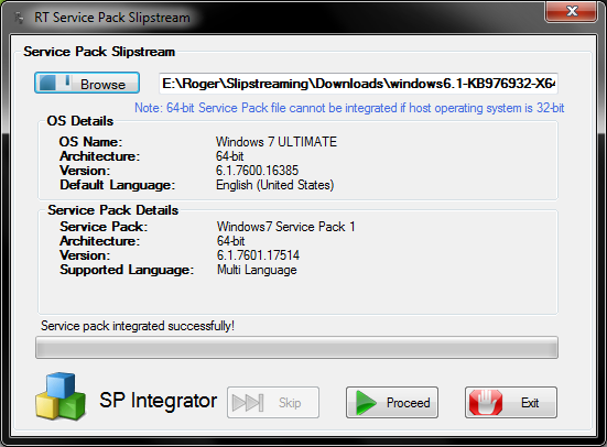 How to slipstream Windows 7 Service Pack - Tutorial