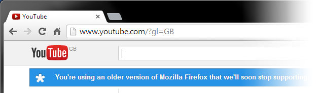 Unsupported browser