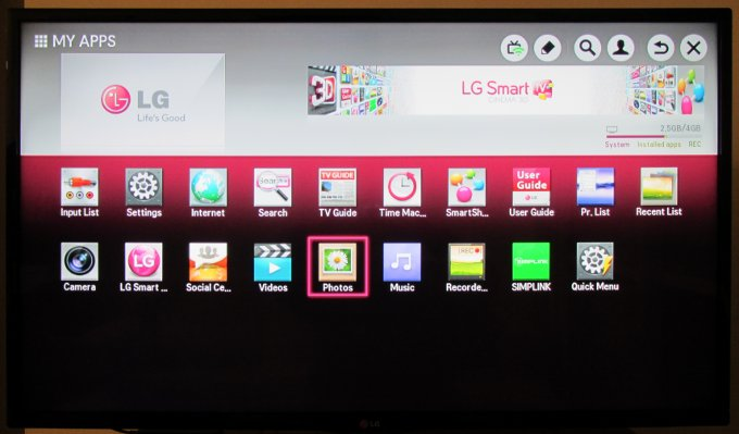 lg tv apps. my apps collection lg tv a