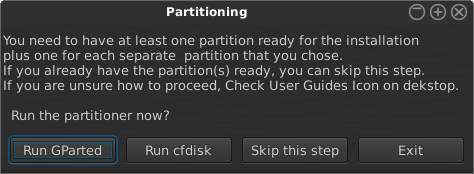 Geeky nonsense about partitioning