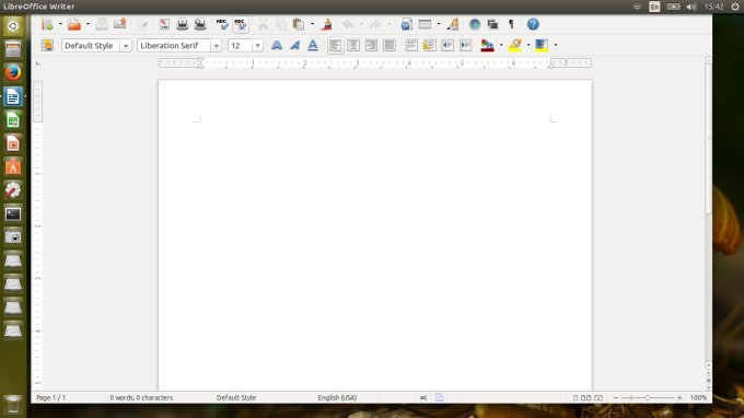 LibreOffice, missing buttons
