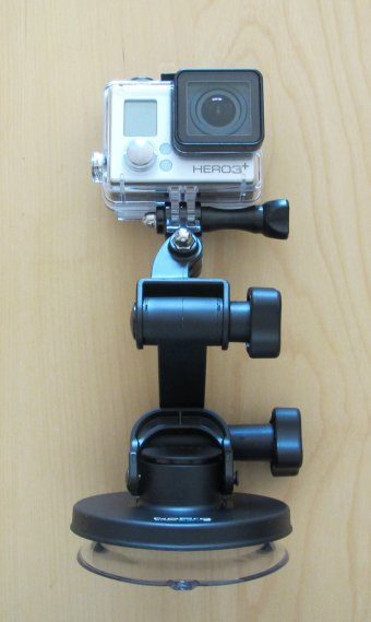 Suction cup, front view