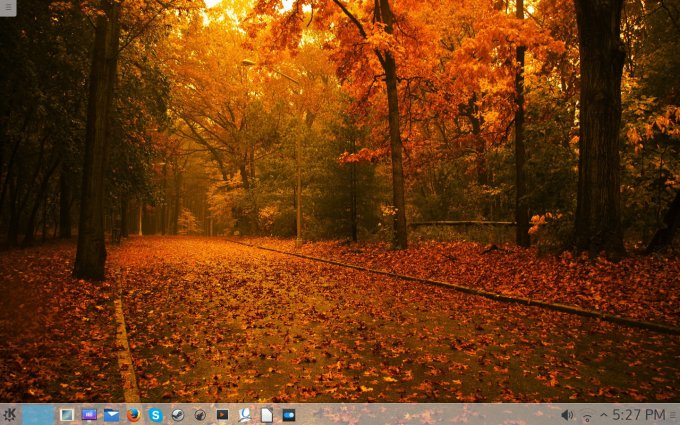 Desktop, pimped up