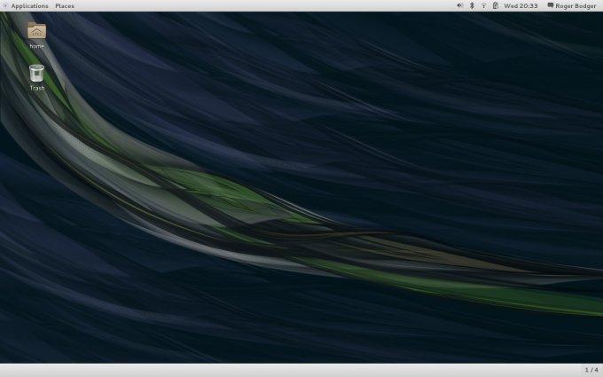 Desktop installed