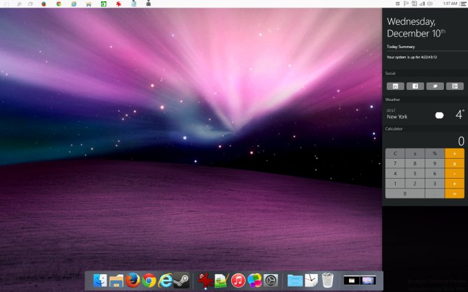 mac dock for windows 10