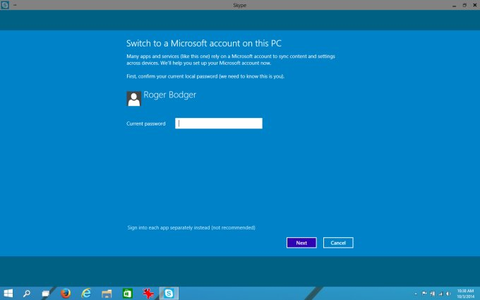 how to delete my skype account on windows 10