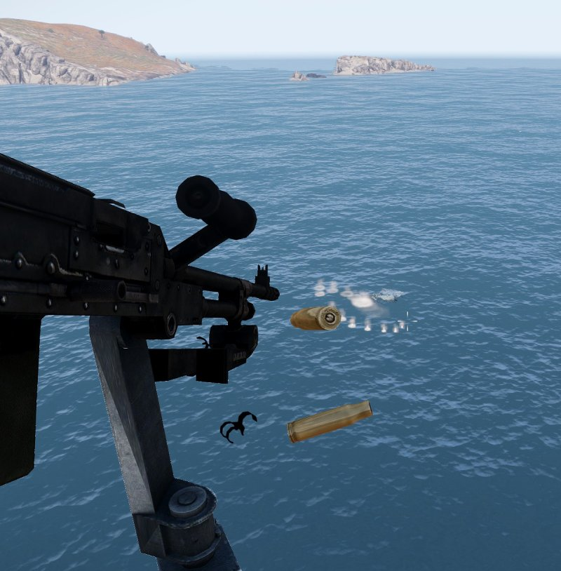 Submersible, helicopter attack