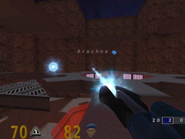 OpenArena FPS screenshot 2