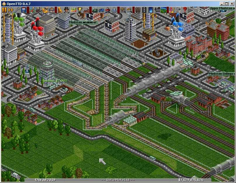 Open transport tycoon deluxe openttd innovation an eight platform station combining four double rail and four monorail tracks mixed or very large stations could not be built in the gumiabroncs Image collections