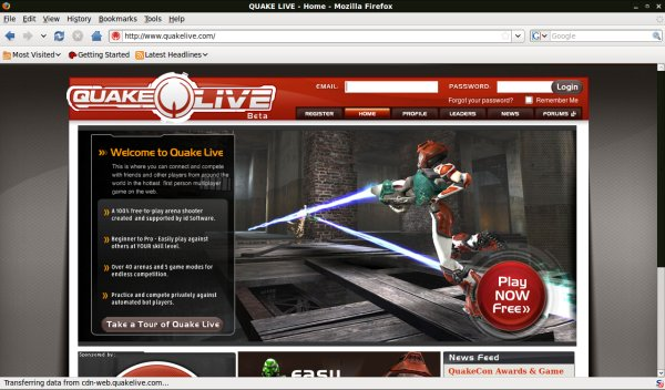 Quake Live - Redefining the online gaming