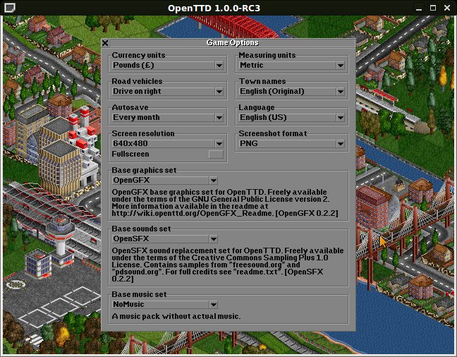 How to play OpenTTD without original TTD data files